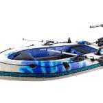 Speeron Schlauchboot mit Elektro Motor